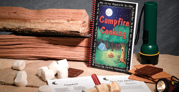 The Rada Cutlery Campfire cookbook is full of easy camping recipes.