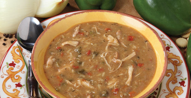 Throw some spice into your evening meal with our Chicken Gumbo Soup dry mix.