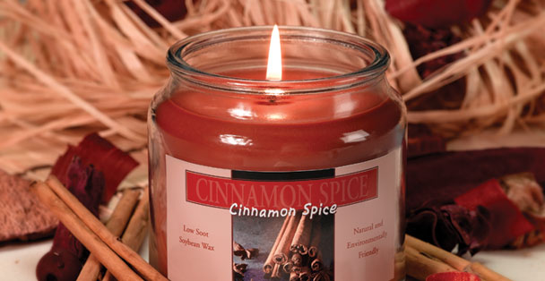 Fill your home with the rich, warm and sweet smell of cinnamon