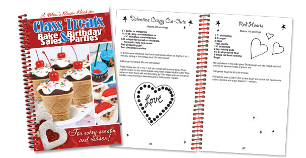 Class Treats, Bake Sales & Birthday Parties recipes cookbook.