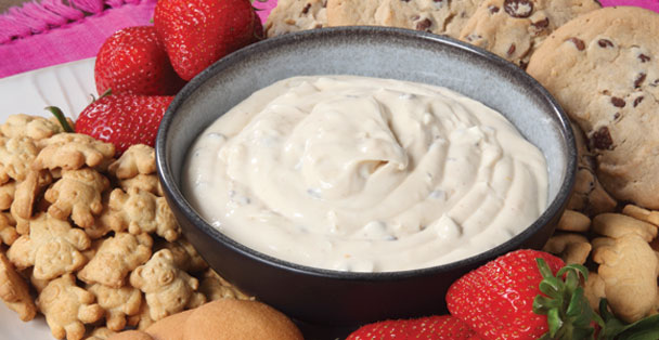 The Rada Cutlery Cookie Dough Dip is deliciously sweet.