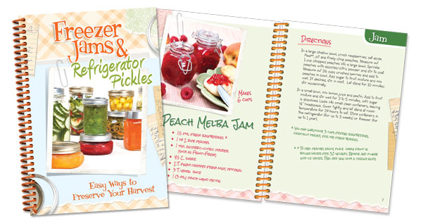 Freezer Jams and Refrigerator Pickles Cookbook.