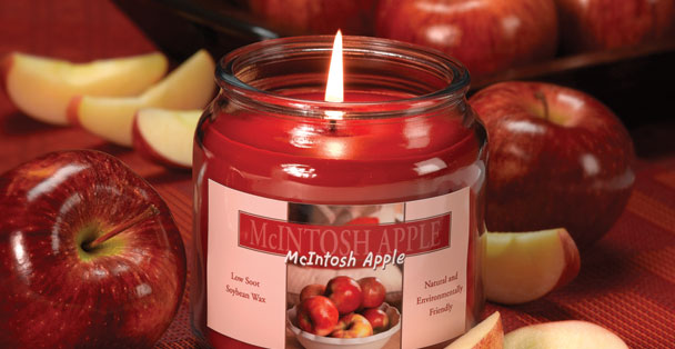 Fill your kitchen with the smell of a fresh crispy red apple.