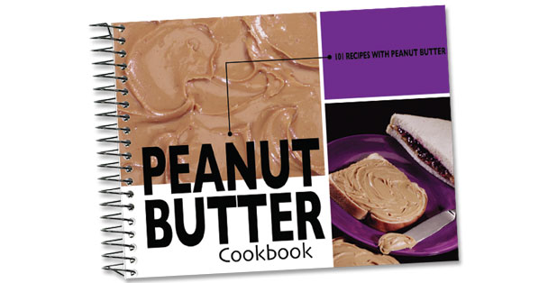 Peanut Butter cookbook made by Rada Cutlery.