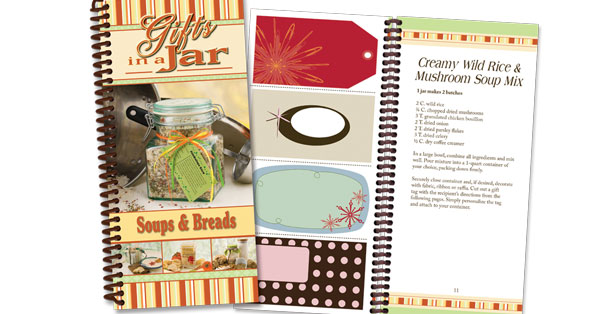Soups and breads in a jar cookbook.