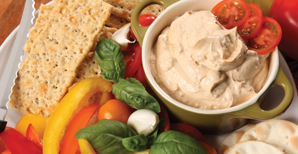 This Tomato, Garlic and Basil Dip will thrill your friends and family with its awesome blend of flavors.