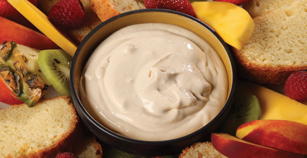 Make incredible parfaits, smoothies, shakes, or no-bake cheesecakes with this Vanilla Latte Sweet Dip.