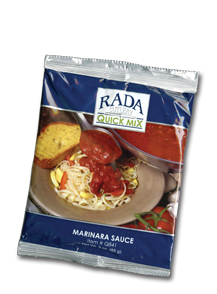 Marinara Sauce Quick Mix Package