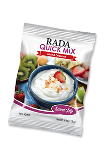 Island Coconut Sweet Dip Quick Mix Package