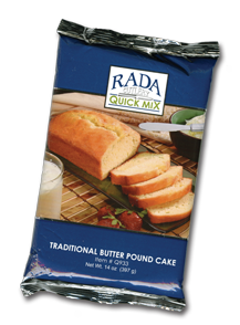 Traditional Butter Pound Cake Quick Mix Package