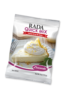 Lemon No-Bake Cheesecake Quick Mix Package