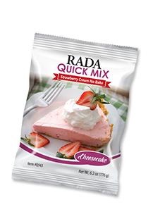 Strawberry No-Bake Cheesecake Quick Mix Package