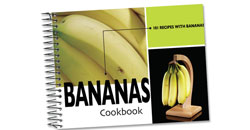 image of 101 Recipes With Bananas