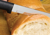The Rada Cutlery 6 inch bread knife is the easiest way to slice bread. The tiny serrations on the bread knife allow thin slices.