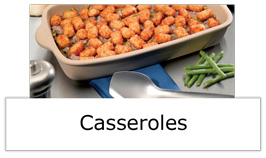 Casseroles category button image