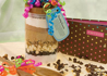Brownie gift in a jar recipes from the Bake sale Favorites cookbook.