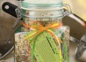 Jambalaya stew recipe for a gift in a jar.