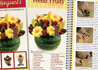 How to make edible fruit bouquets with the Rada Cutlery cookbook.