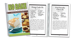 image of No Bake Cookies, Bars & Pies