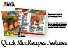 The Rada Cutlery Quick Mix Recipe booklet includes 47 recipes.