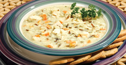 image of Creamy Chicken Wild Rice Soup