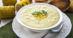 image of Roasted Corn Chowder Soup