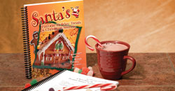 image of Santa's Favorite Holiday Treats Cookbook