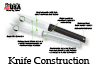 This paring knife has serrations that allow a saw cutting action.