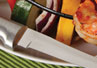 The best knife to use when slicing vegetables is the Rada Cutlery Super Parer.