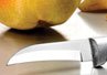 The Granny Paring Knife is the best knife to use when peeling fruits like pears and apples.