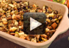 A video on how to make Thanksgiving stuffing.