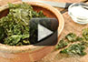A video recipe on how to make Kale chips in the oven.