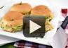 A video recipe on how to make Hot Chicken Swiss sandwiches.