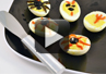 Video on how to make scary deviled eggs.