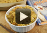 A video recipe on how to make Chicken Dinner Bake casserole.