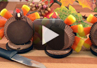 A video demonstration on how to make a candy Turkey Treat.