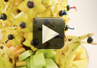 A video recipe with Chef Ted on how to make a decoratvie fruit bouquet