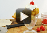 A video recipe on how to make fried ice cream with tortilla bowls.