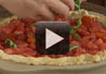 Filled with garden tomatoes and fresh basil this tomato pie recipe is a delicious alternative to pizza.