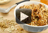 A video on how to make homemade granola.