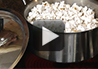 A demonstration on how to make real homemade popcorn in a pan on the stovetop.