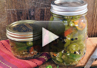 A video on how to make hot pickled jalapeno peppers<br><br>