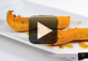 A video demonstration on how to make lemon maple butternut squash.