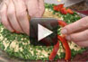 Create a wreath appetizer for all your holiday get togethers with Rada Quick Mix Dips.