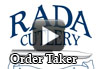 <div><h1>Rada Cutlery Fundraising Order Taker</h1></div><div>Watch this video for a quick introduction to the Order Taker. You will receive a free Order Take with each Rada Cutlery fundraising catalog you order. The Order Taker is used by the fundraiser supporters to record their order and add up the amount of money owed. </div><div>You will want to make sure each of your sellers receives at least one Order Taker with each catalog. There is an enough for ten people to place orders. First thing you'll want to do is fill in the name in the Seller's Name column, the Name of the Organization, and you can fill in what purpose you're raising money for. </div><div>Each customer will fill in their name and address, the items they which to purchase, the merchandise total, and an extra fifty cents for processing. This processing charge helps offset the shipping costs when we mail the order to you. </div><div>The completed order takers should be then submitted to the leader of the group. If you have any questions on this or you want us to mail you more order takers, please call customer service 1-800-311-9691.</div><div>Each Order Taker includes ten boxes for the people supporting your fund raiser to record their orders. If you are short of Order Takers, you can print copies from the link on the Rada Cutlery web site.</div>