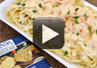 A video on how to make shrimp pasta with jalapeno sauce using the jalapeno cheeseball mix.