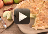 A video recipe on how to make Sour Cream Dutch Apple Pie.