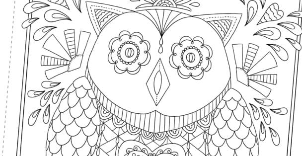 Adult Coloring Books | Color My Heart Happy - RadaCutlery.com