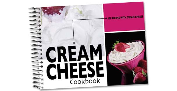 Cream cheese recipes cookbook by Rada Cutlery.