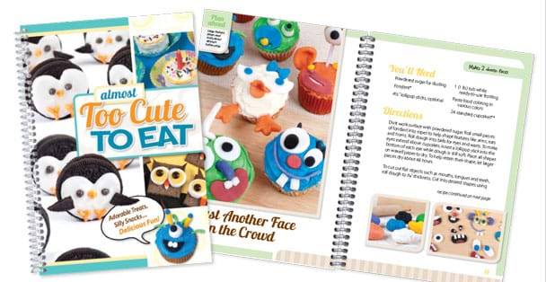 The perfect cookbook for kids made by Rada Cutlery.